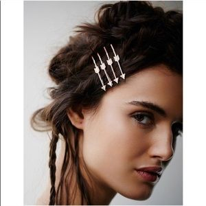 Free People Straight Shooter Arrow Hair Bobby Pins